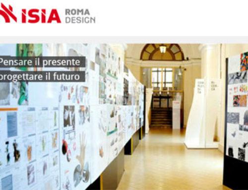 Corso di Laurea ISIA in Disegno Industriale, un percorso su cui puntare
