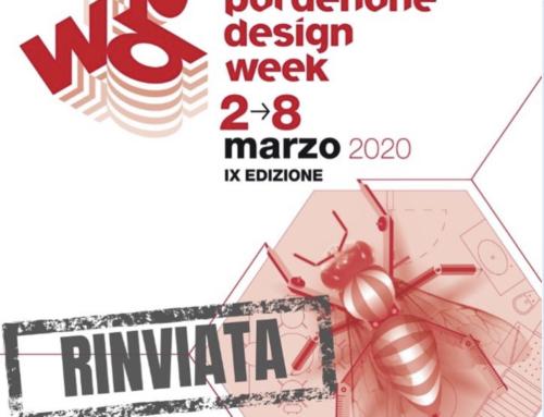 Rimandata Pordenone Design Week